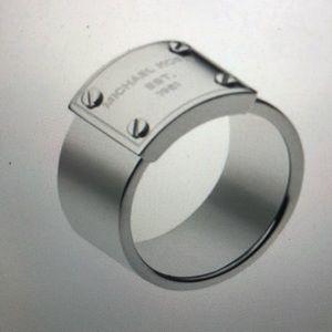 MK Logo - Plate Ring
